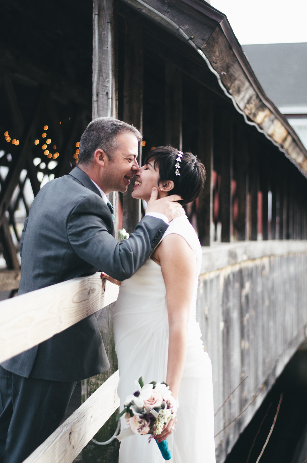 Covered Bridge Wedding on juliettelaura.blogspot.com