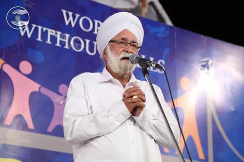 Dayal Singh from Paschim Vihar expresses his views