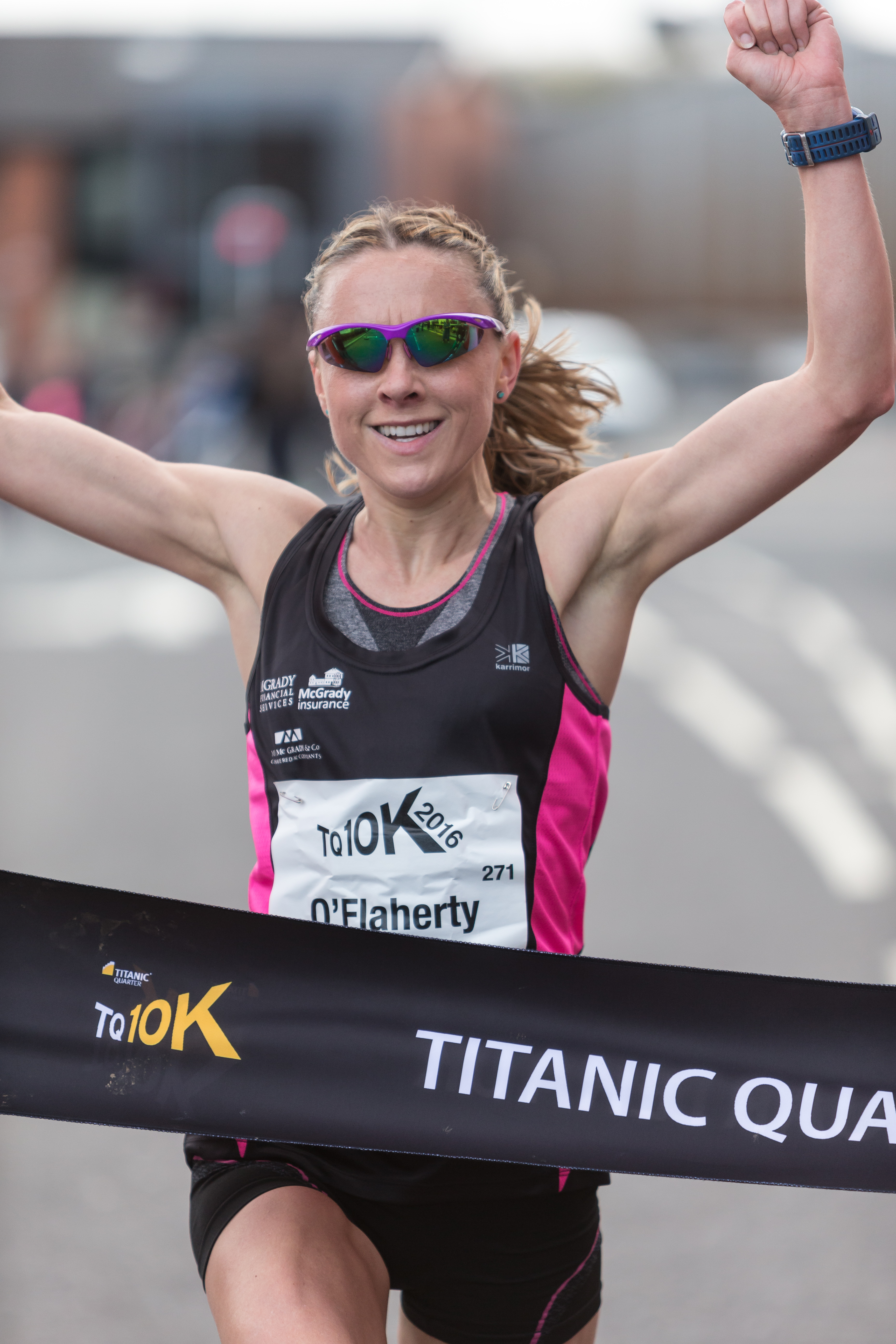 Frazer and OFlaherty Win in Titanic 10K with Sights on Rio