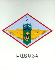 HQ SQ 34 Insignia, circa 1943
