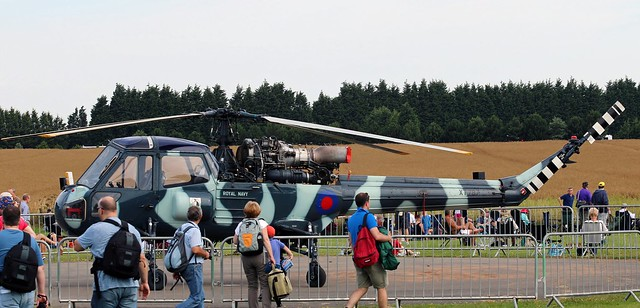 XT787 WESTLAND WASP ROYAL NAVY EAST FORTUNE 2014