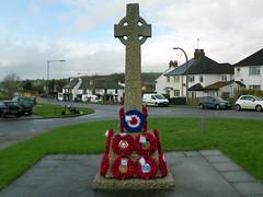 GOC Brookmans Park 050: War memorial, South Mimms