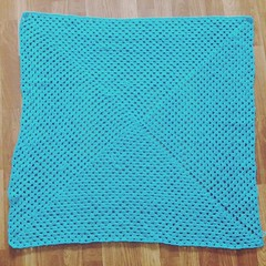 Second Baby blanket committed for #MICQ  Mother India Crochet Queens for Qatar is submitted to the mission  #MICQ #qatar #dohabloggers #dohamoms #instagramqatar #instapic #expatmoms #babyblanket #hgcollections #fb #fbpage #follow4follow #crochetfor #croch