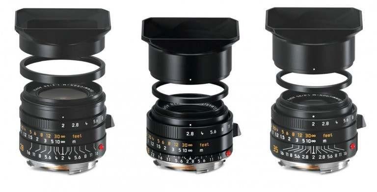 Leica dévoile 3 nouvelles générations d'objectifs grands-angles M