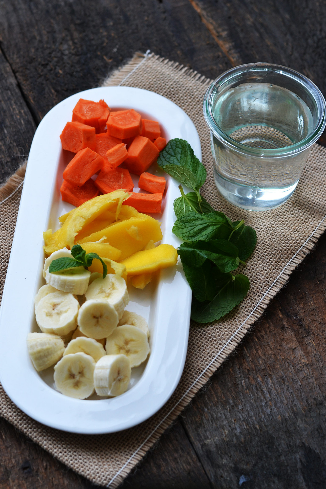 ingrediente smoothie cu morcovi