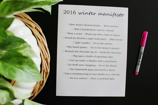 winter manifesto