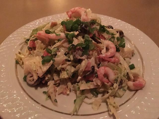 Spicy Chilean shrimp salad - El Gaucho