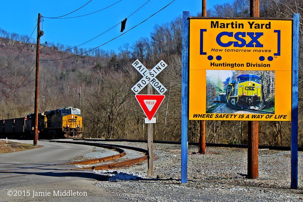 CSX Yard -- Martin, KY