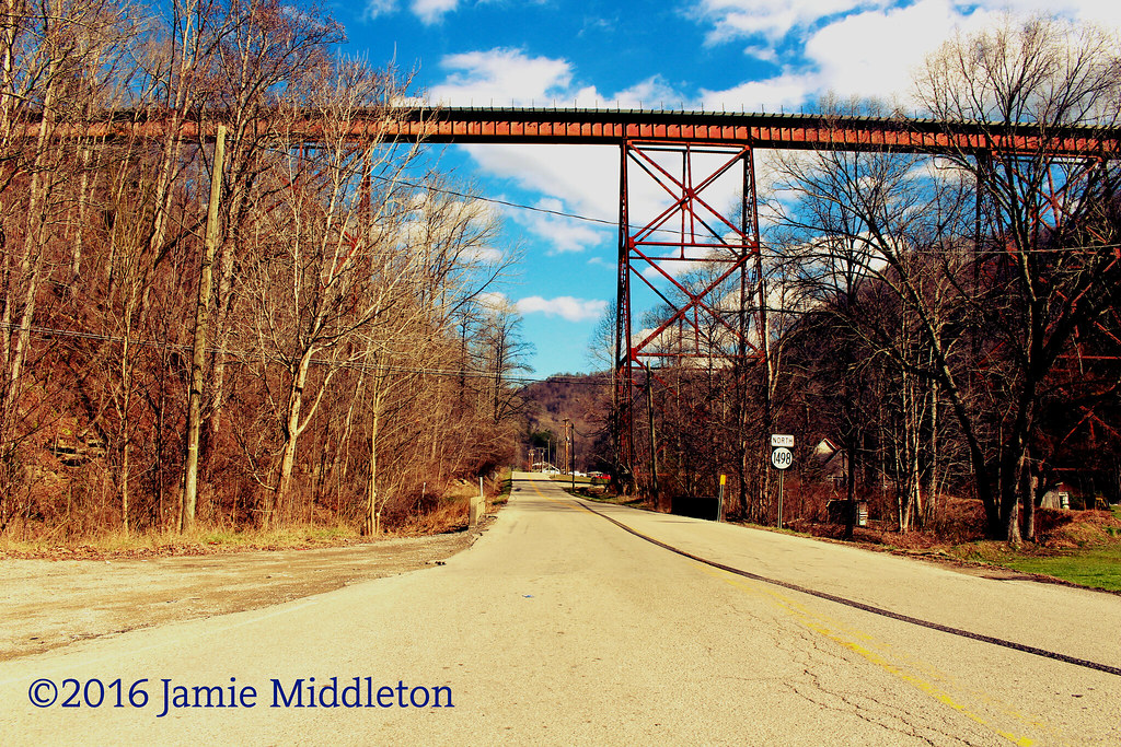 Trestle over KY 1468 at Kite, KY