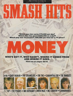 Smash Hits, September 24, 1986