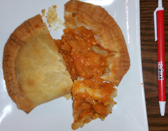 2016-Jan-20 Silvestre - spicy shrimp empanada