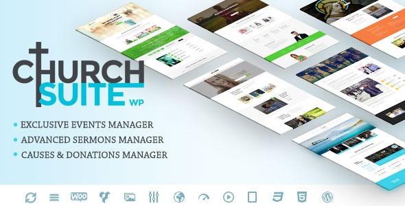 Themeforest Church Suite v1.0.7 - Responsive WordPress Theme