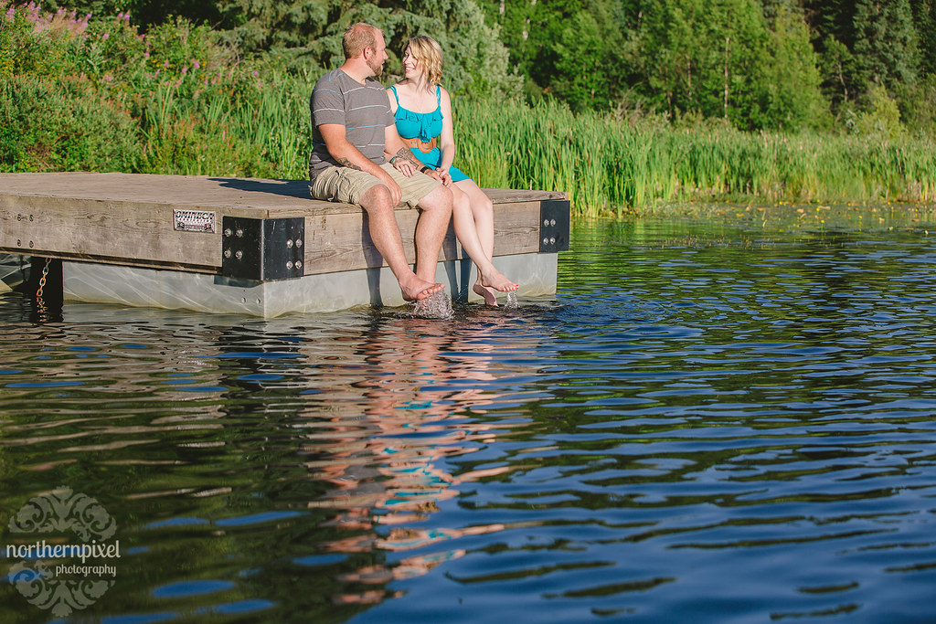 Engagement Session on the Dock