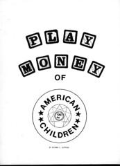 Play Money of American Children