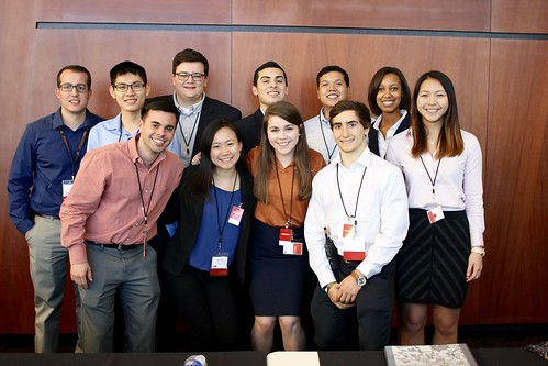 The UT SPE chapter co-hosted this year's largest-ever SPE Symposium in Houston.
