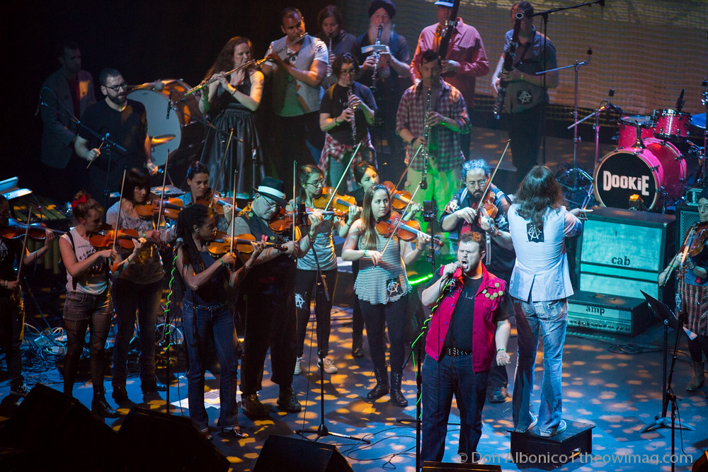Awesome Orchestra w/ Sam Schwartz in UnderCover Presents, Green Day's Dookie @ Fox Theater, Oakland 2-19-2016