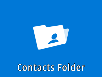 Contacts Folder
