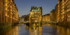 Speicherstadt Hamburg by Night