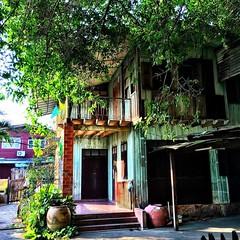 Gorgeous old Thai home #bangkok