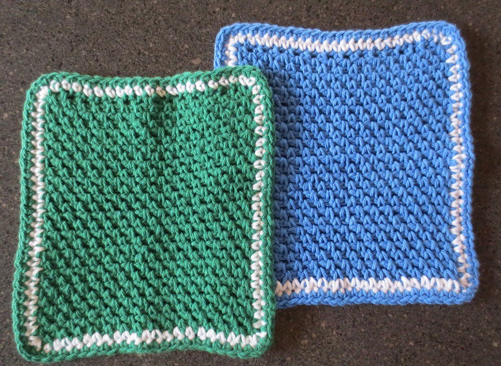 Washcloth My Recycled Bags
