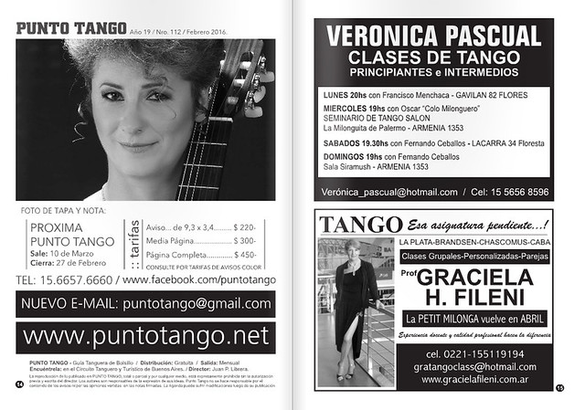 Revista PUNTO TANGO Enero 2016-5