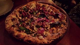 Funghi e Raddichio Pizza from Gigi