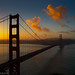 Sunrise over the Golden Gate by Greg Adams Photography