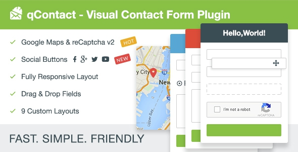 Codecanyon qContact Form Builder v1.0 - Easy Contact Form