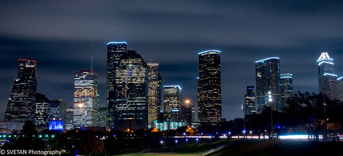 longexposure sky panorama night skyscraper photography nikon long exposure downtown texas allen le parkway anvar khodzhaev svetan d800e