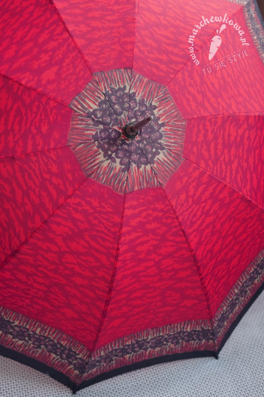 marchewkowa, blog, szycie, krawiectwo, pracownia marchewkowej, tu się szyje, wrocław, retro, vintage, style, fashion, moda, parasolka