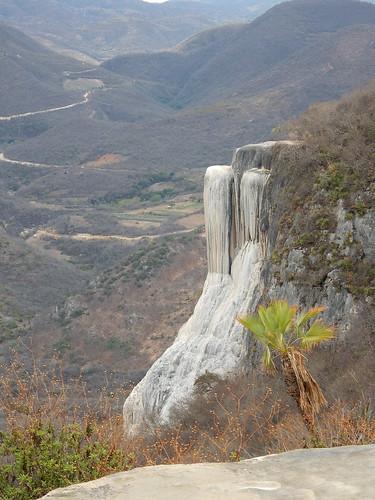 Hierve el Agua - versteende waterval