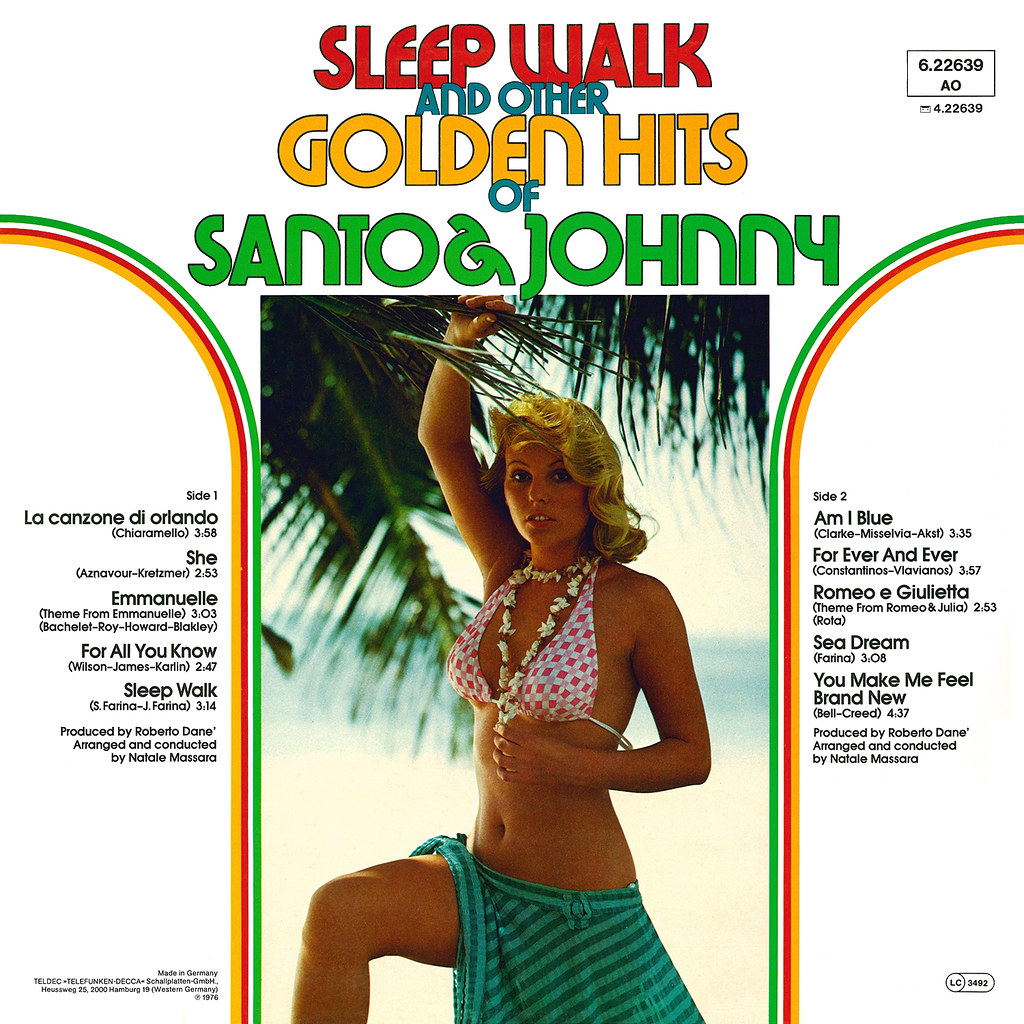 Santo & Johnny - Sleep Walk