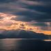 Sun rays panorama by Vagelis Pikoulas