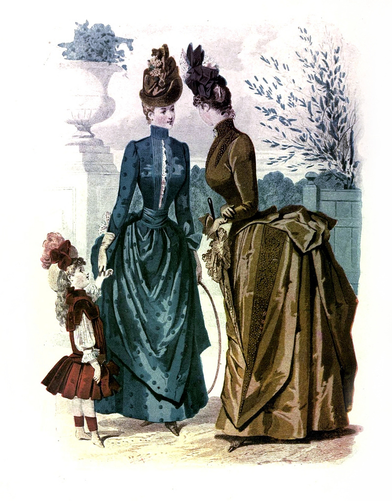 1887 Fashion Plate