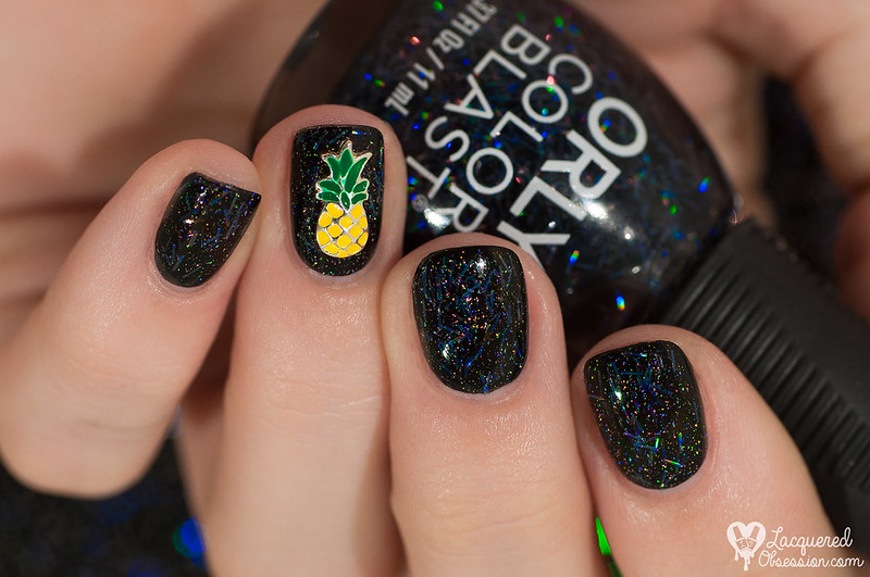 Black Holo & Pineapple