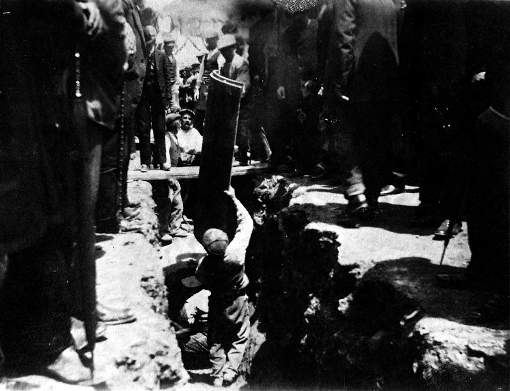 1-instalación de el alcantarillado 20 mayo 1909 en albacete