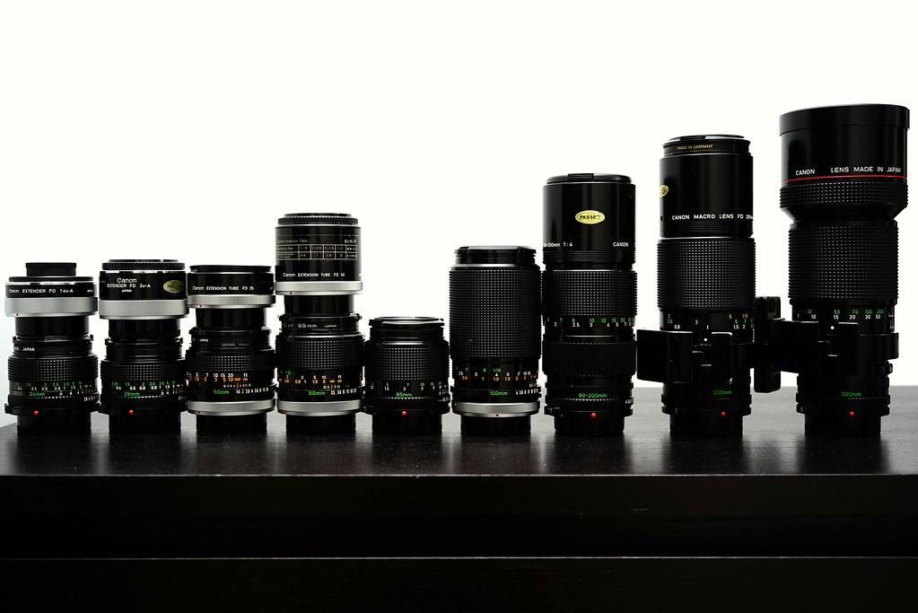 Canon FD starter lenses