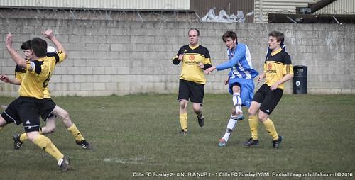 Cliffe FC Sunday vs. NUR (Double-Header) 20Mar16