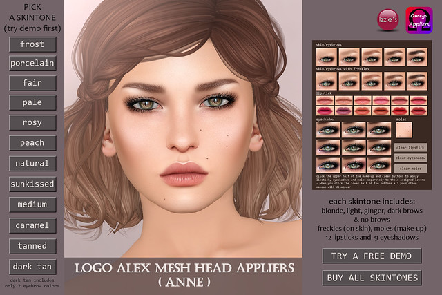 Anne LOGO Alex Applier (for Skin Fair)