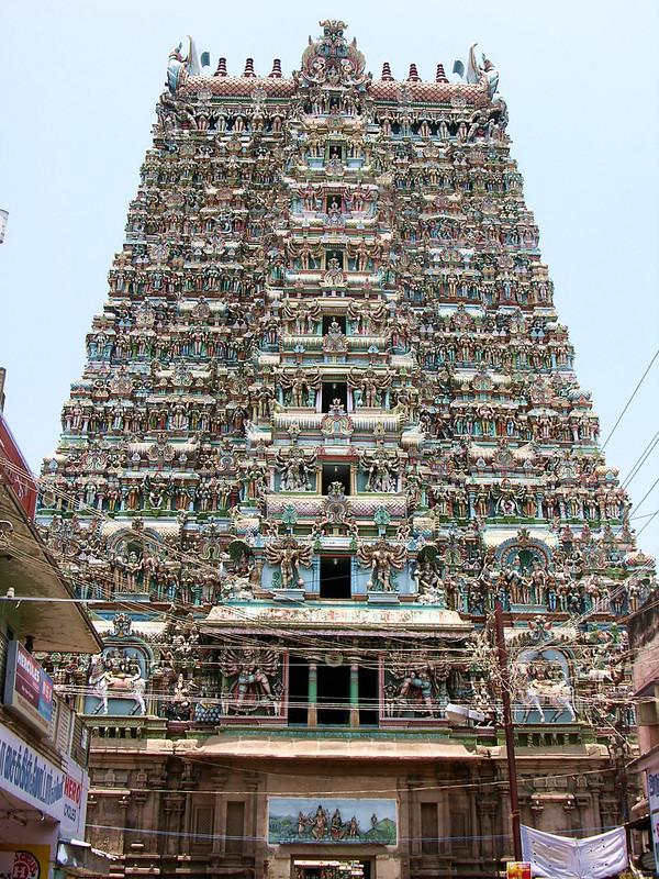 Puerta Sur del Templo de Sri Meenakshi