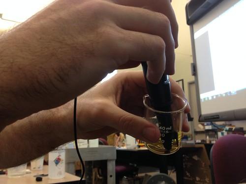 pH calibration for aquaponics sensor