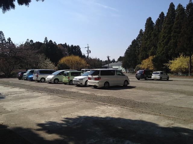 入道ヶ岳 椿大神社 第3駐車場