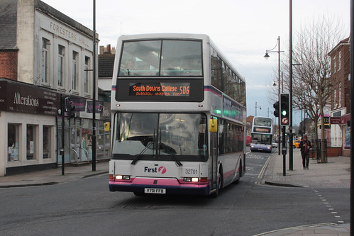 First Hampshire and Dorset 32701 V701FFB