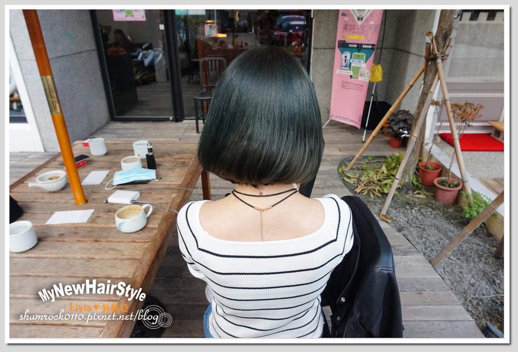 HappyHairTon短髮+墨綠色染髮 - 18