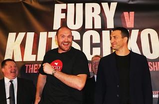 """Tyson Fury startet """"Kopfspielchen"""""""