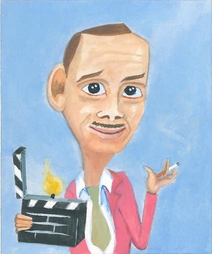 John Waters Caricature