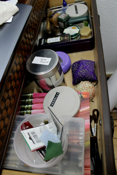 Sewing Drawer - Misericordia