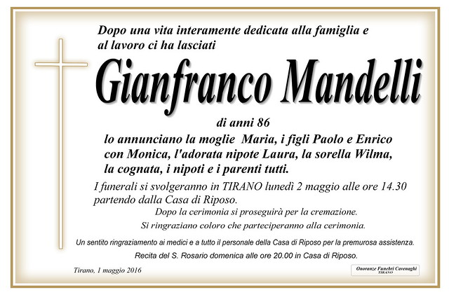 Mandelli Gianfranco
