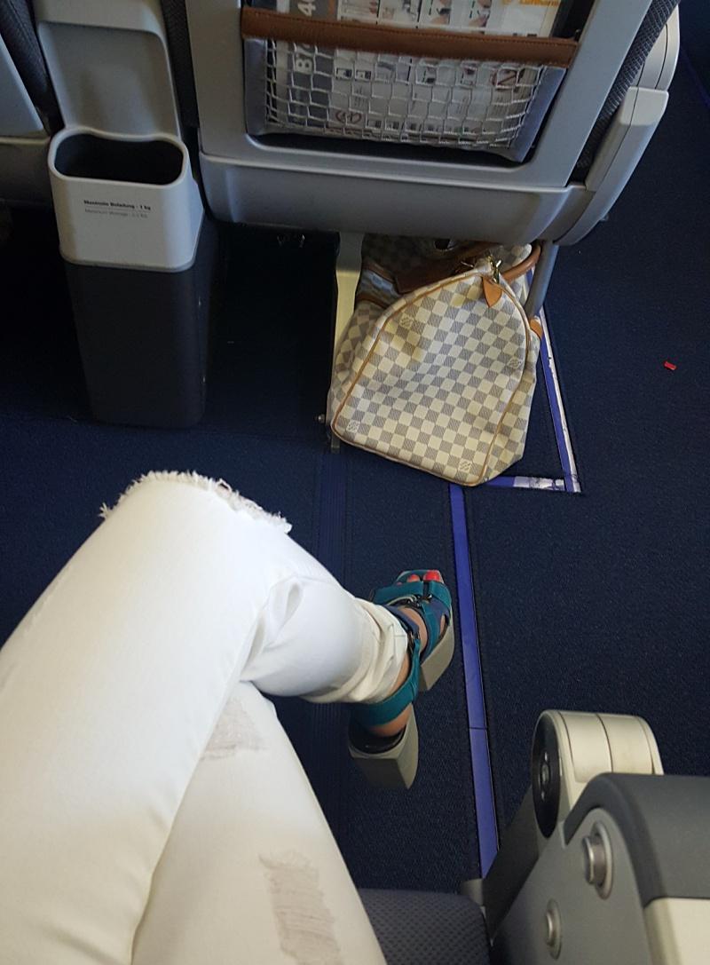 Lufthansa seat 29