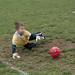 grandson as goalie